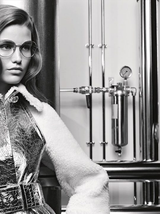 Chanel Fall-Winter 2017-18 Eyewear Campaign