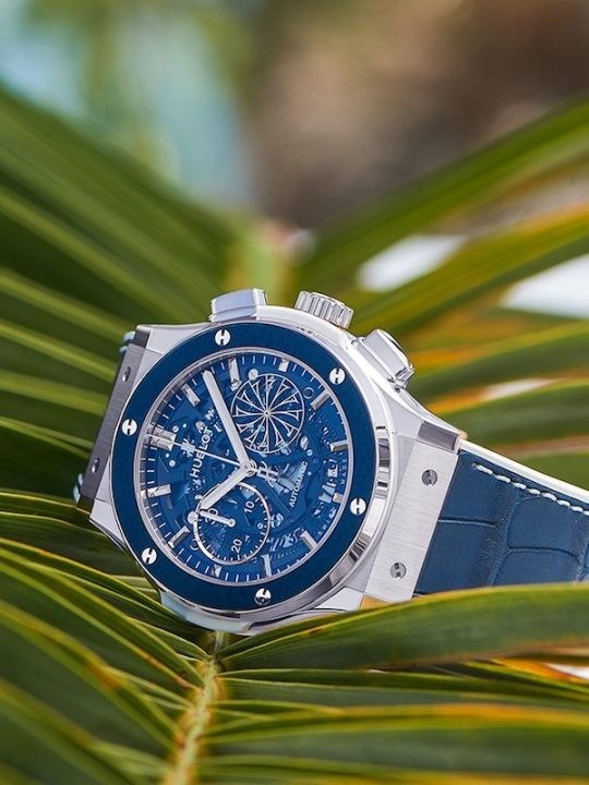 Hublot Unveiled the 2017 Edition of the Classic Fusion Mykonos Timepiece