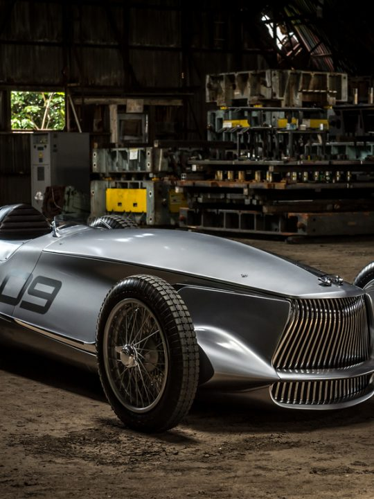 INFINITI Unveiled Prototype 9 at 2017 Pebble Beach Concours d'Elegance