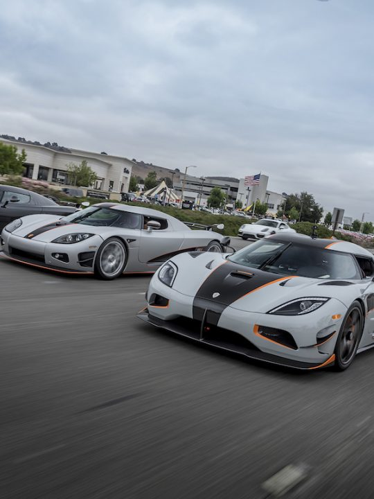 Koenigsegg Enjoys Its Biggest Ever Presence at any Event in the U.S. During Monterey Car Week 2017