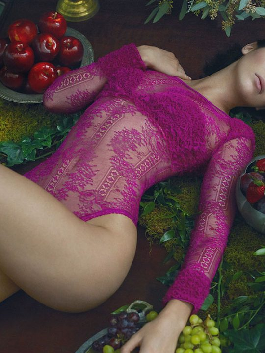 La Perla Fall Winter 2017 Romance Campaign Featuring Kendall Jenner