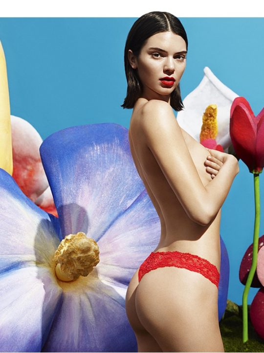 Rock La Perla's Freedom Panty Just Like Kendall Jenner
