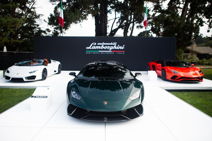 Lamborghini Presented a Unique Collection of Vehicles During Monterey Car Week 2017