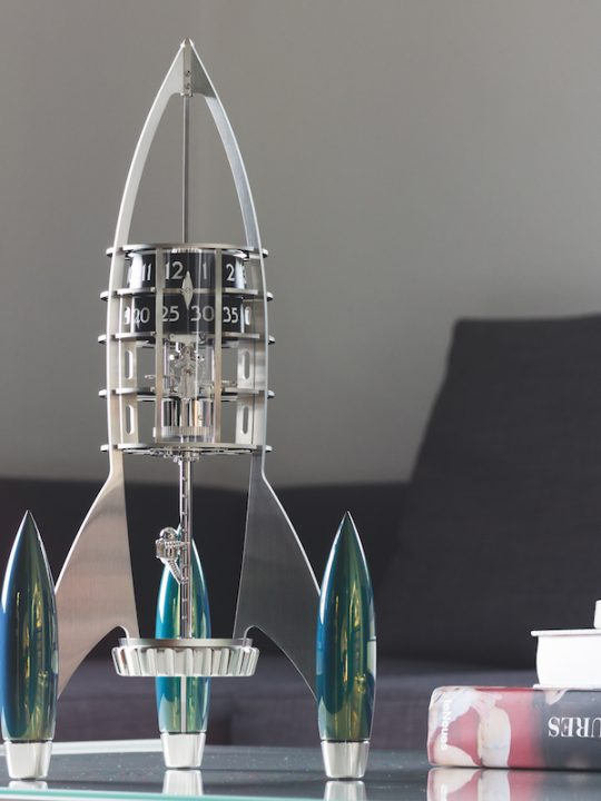 Straight From Childhood: MB&F Destination Moon