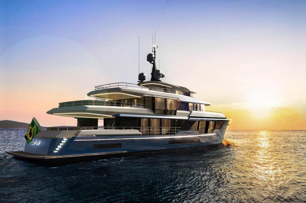 Vripack & MCP Yachts Team Up to Reveal MCP 120 Yacht Concept