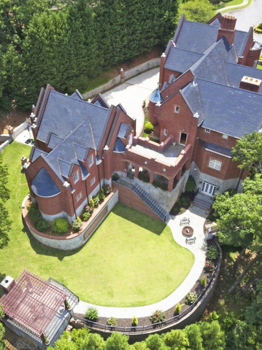 Here Is Your Chance to Own an Impressive Castle-Like Mansion in Georgia