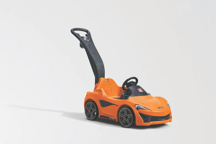 McLaren 570S Step2 Push Sports Car Is What Your Toddler Needs