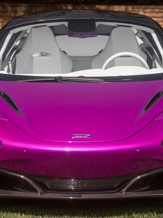 Unique McLaren 720S Fux Fuchsia Dazzles at Pebble Beach Concours d'Elegance