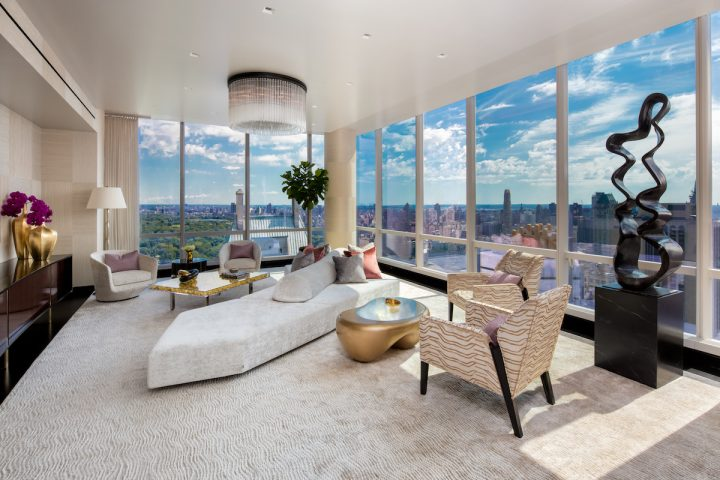 A Look Inside a New Residence at ONE57 Designed by Tony Ingrao