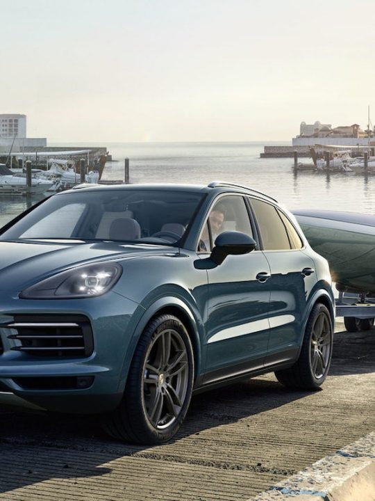 Porsche Unveiled the New 2019 Cayenne