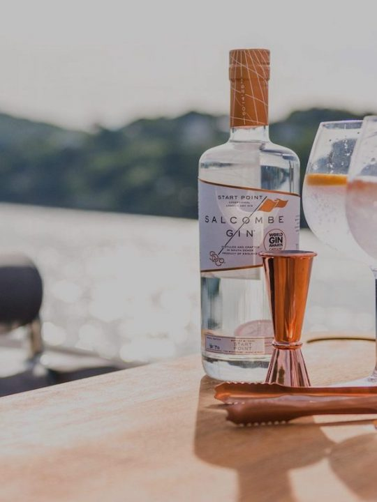 Salcombe Gin Distillery Launched Unprecedented Yacht Delivery Service