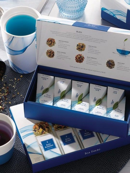 Tea Forté Introduces BLEU, A New Collection Of Exotic Blends