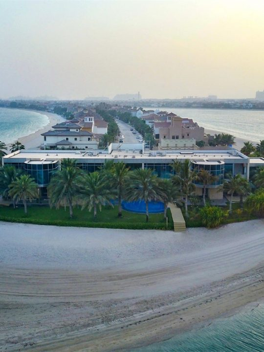 A Beach Palace on the Palm Jumeirah Can Be Yours for $54.5 Million