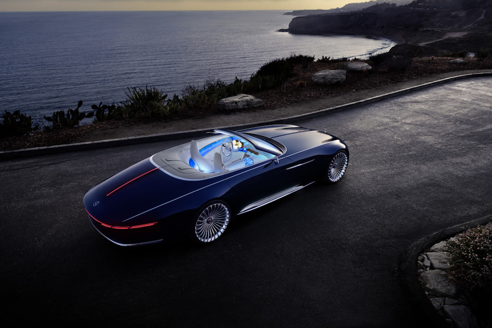 Opulence Galore: Vision Mercedes-Maybach 6 Cabriolet