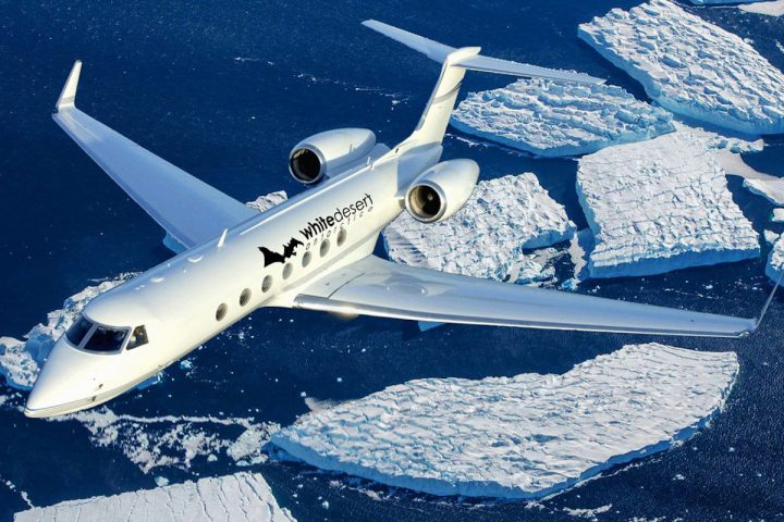 White Desert Offers a Gulfstream Private Jet to Access Antarctica