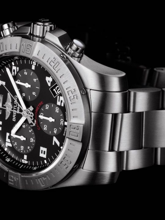Chronospace Evo B60 Is Fitted with New 100% Breitling 'Engine'