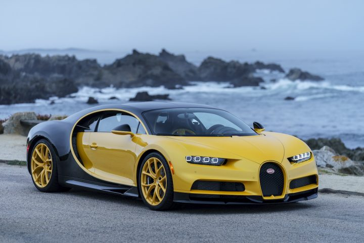 Bugatti Delivers First Chiron to a Customer in the United States