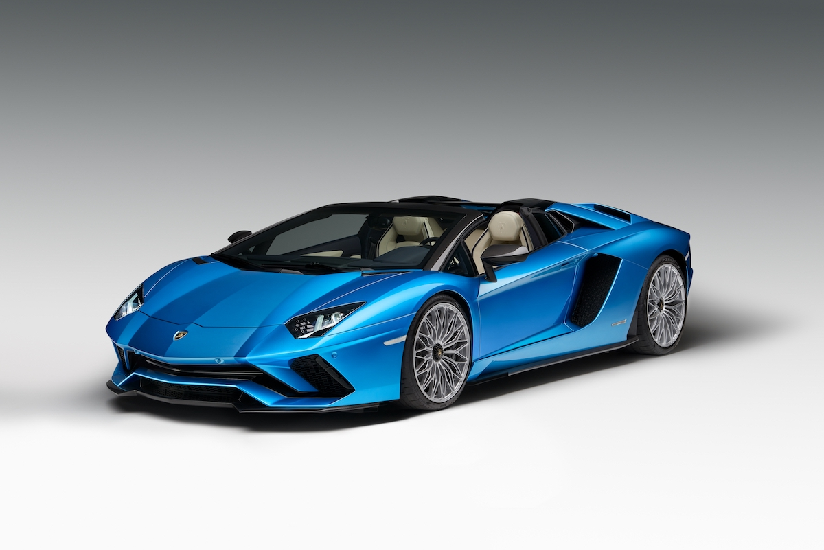 Lamborghini Aventador S Roadster Is Here
