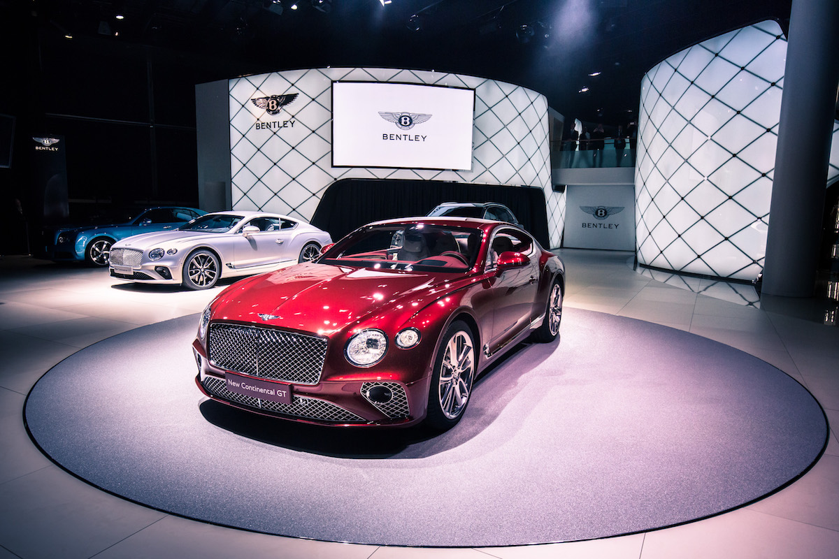Bentley Continental GT Is Gorgeous at the IAA 2017 in Frankfurt