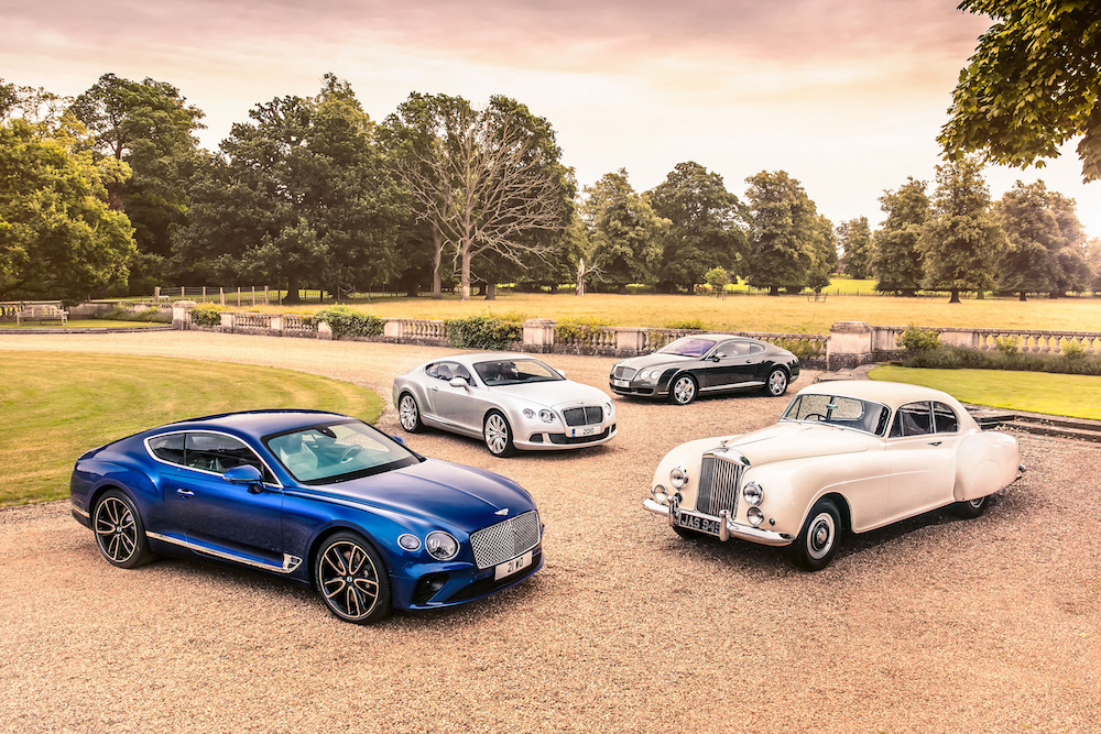 Bentley Spills the Beans on the Influences Behind the Design of the Continental GT