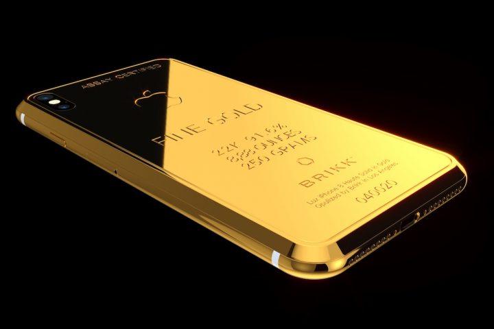 Brikk Lux iPhone X Ingot Collection