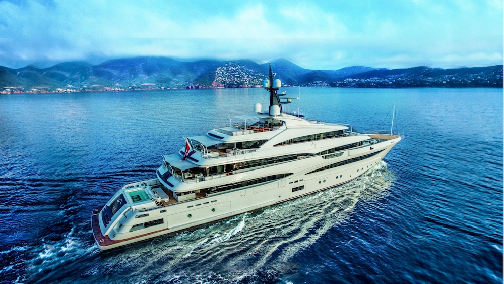 Behold the Brand New 74Metre CRN CLOUD 9 Superyacht