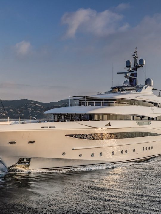 CRN M/Y Cloud 9 Is Among the Largest Megayachts on Display at The Monaco Yacht Show