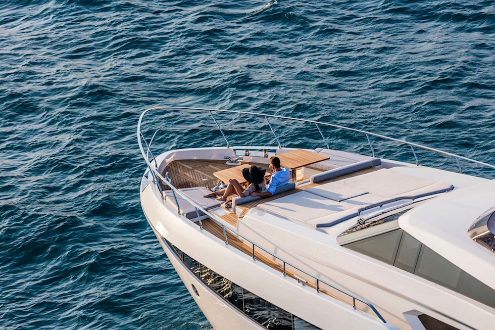 The New Maxi Flybridge Ferretti Yachts 920 Is a Big Star in Cannes