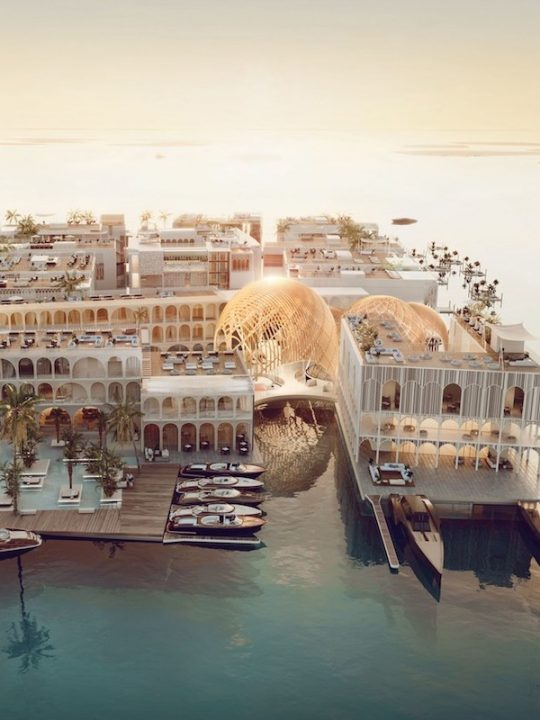 Meet the Floating Venice, the World's First Five-Star Underwater Vessel Resort