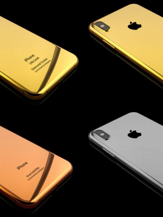 The Gold iPhone 8 Collection by Goldgenie
