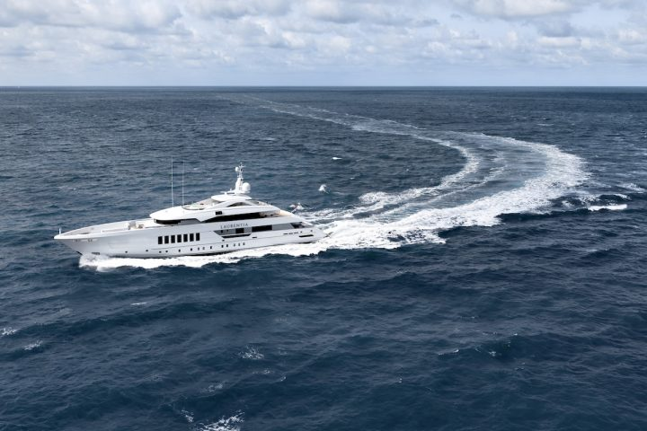 Heesen Yachts Delivers 55m Steel Hulled Fast Displacement Laurentia