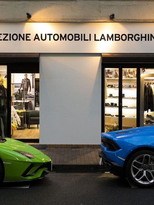 The Official Collezione Automobili Lamborghini Store Opens in Ginza