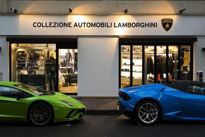The Official Collezione Automobili Lamborghini Store Opens in Ginza