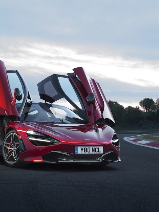 McLaren Showcases Its Two New Cars at the Chantilly Arts & Elegance Richard Mille Event