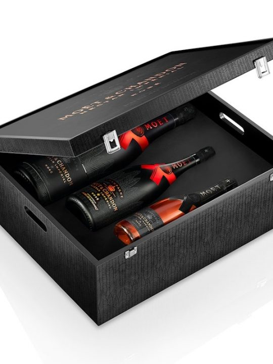 The Moët Nectar Impérial Rosé x Public School Bottle Collection