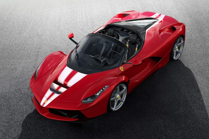 LaFerrari Aperta to Be Auctioned Off for a Noble Cause