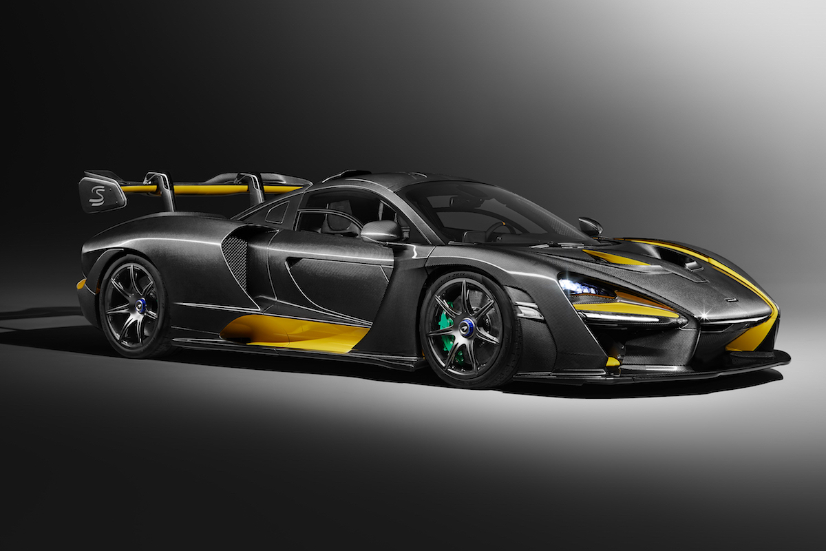 McLaren Senna in Visual Carbon Fibre Takes Center Stage at the 88th Geneva International Motor Show