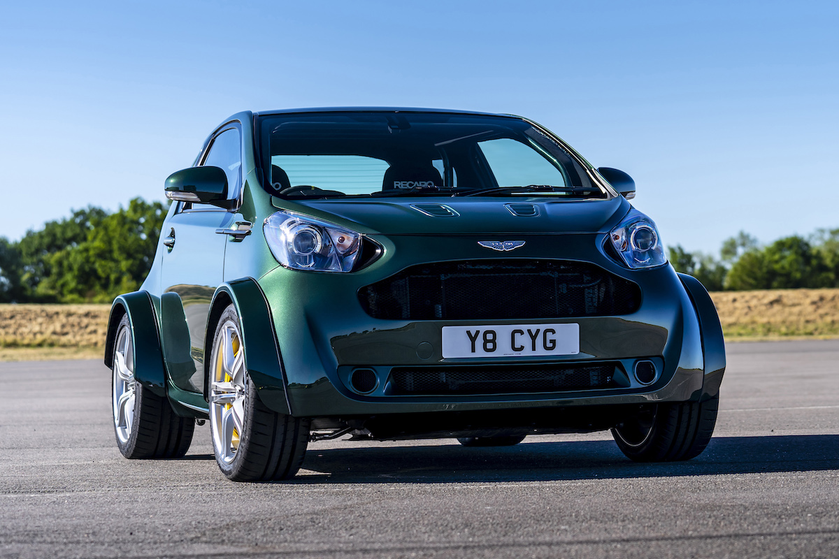 One-Off Aston Martin V8 Cygnet Is the Ultimate City Car