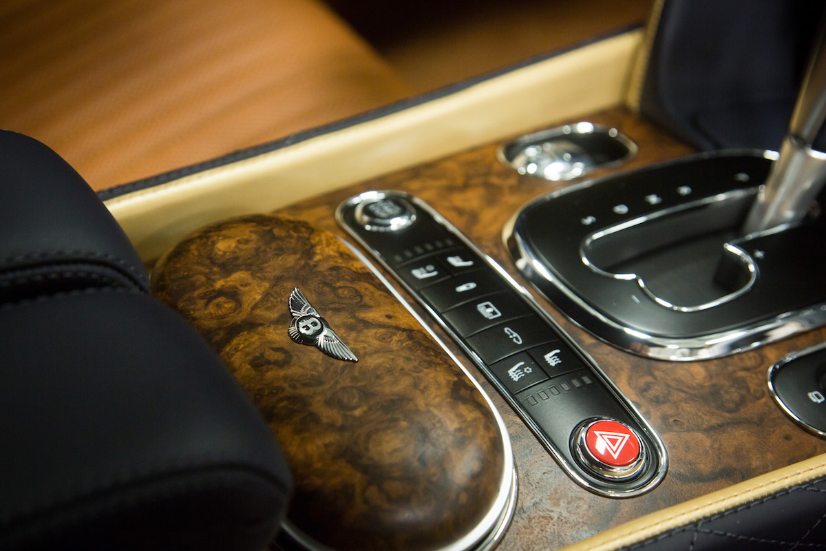 Bentley Creates New Luxury Wood Veneer