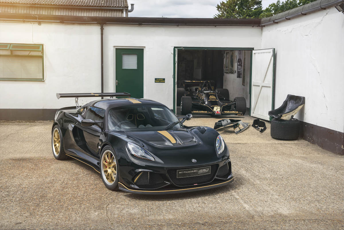 Lotus Unveiled Unique Celebration Cars, the Exige Type 49 and 79