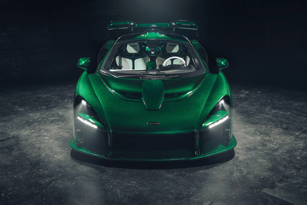 First North American Designated McLaren Senna Is Delivered to Michael Fux