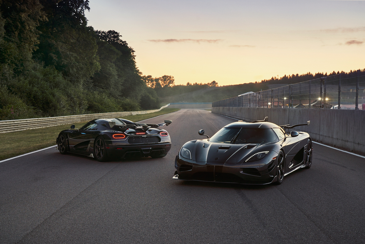 Koenigsegg Bids Farewell to Agera with Final Edition Cars Thor and Väder