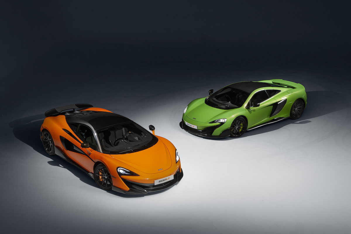 McLaren 600LT Is the Lightest, Most Powerful & Quickest Road-Legal Sports Series McLaren