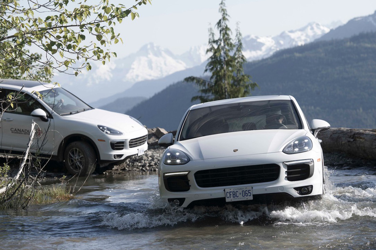 Drive a Porsche Cayenne S along Scenic Vistas through the Callaghan Valley