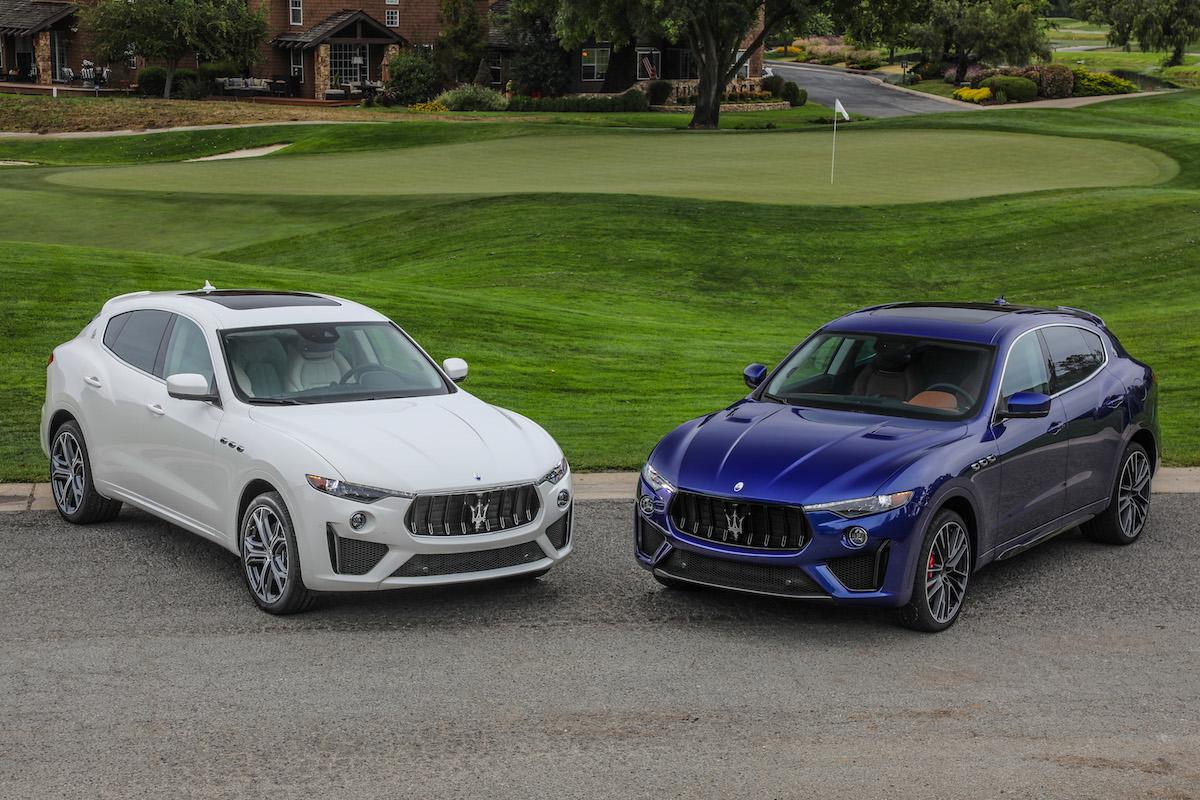 Maserati Brings the New V8-Powered Levante GTS & Trofeo SUVs to Monterey
