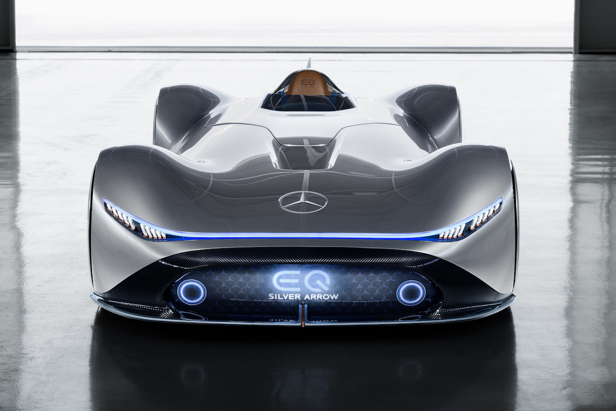 Mercedes-Benz Celebrates the World Premier of the Vision EQ Silver Arrow