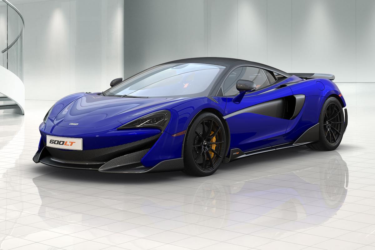 Build Your Own Perfect 600LT Using McLaren's Online 2D Configurator