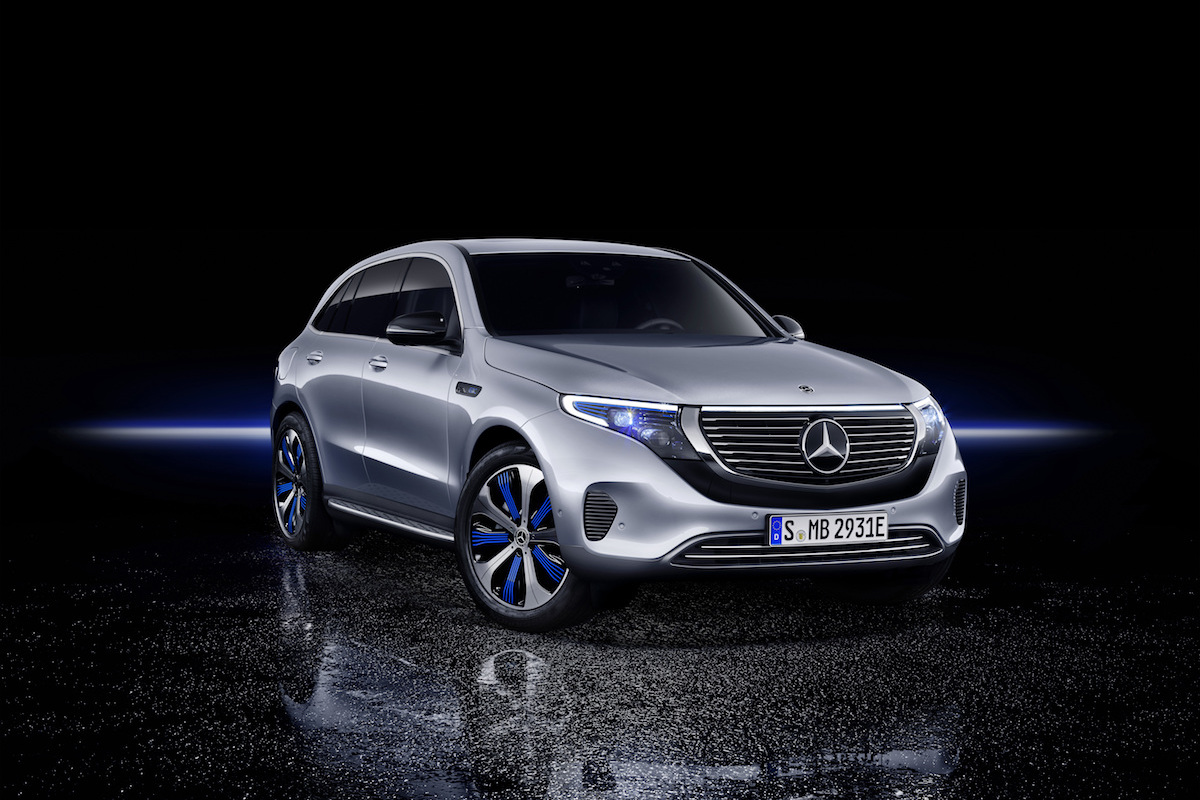 The New EQC Is the Mercedes-Benz Among Electric Vehicles