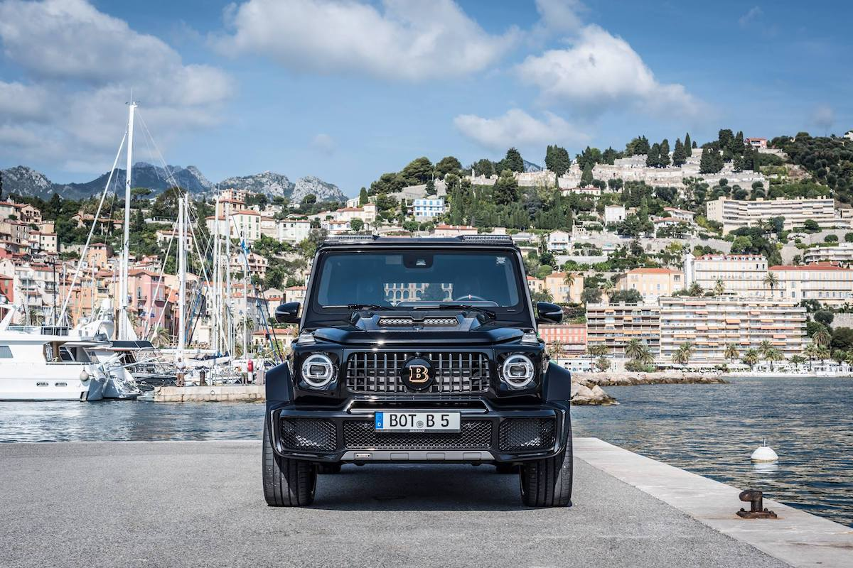BRABUS 700 WIDESTAR Is the Power Off-roader