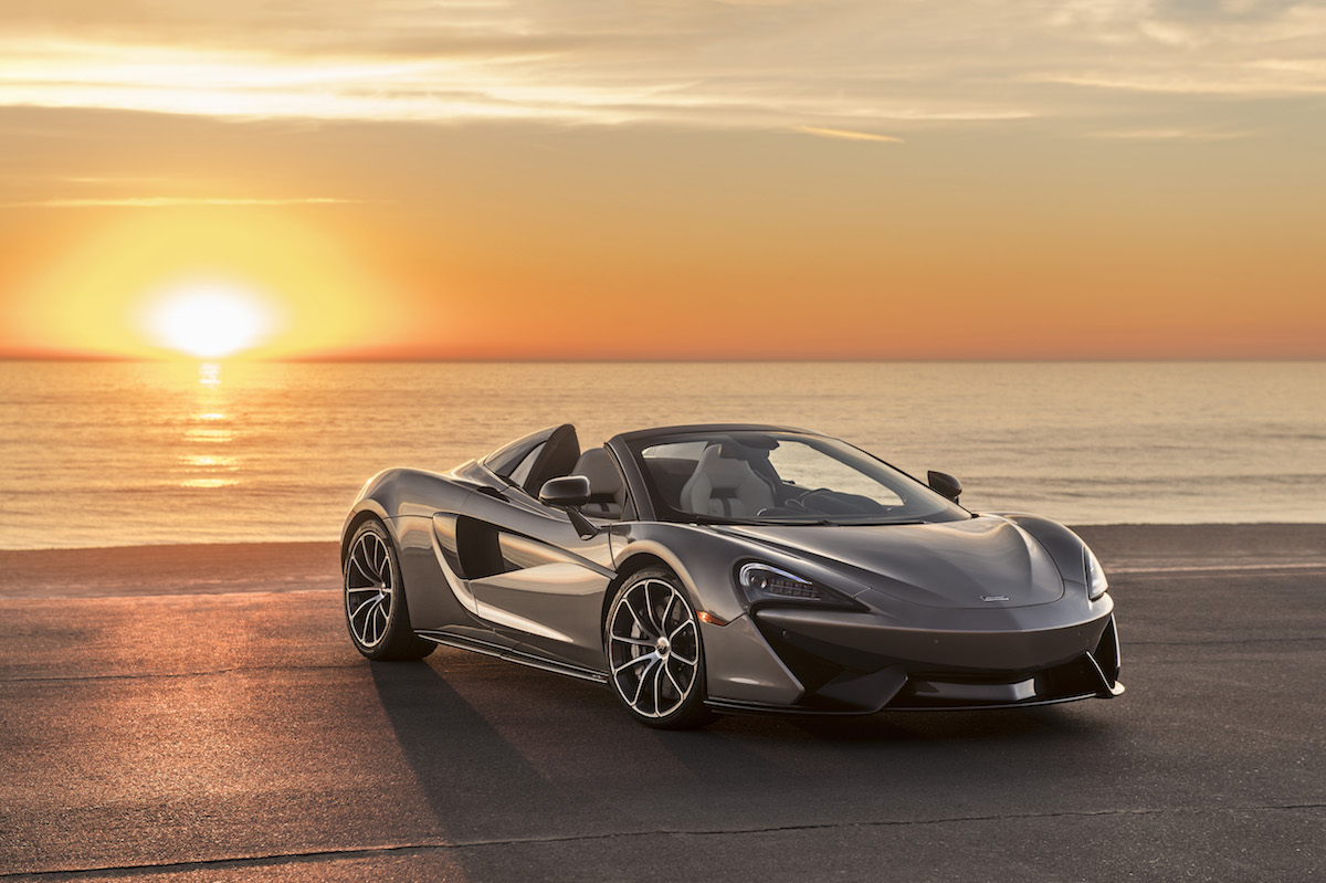McLaren 570S Spider, That Raised $948,000 for Charity, Is Delivered to the Winning Bidder